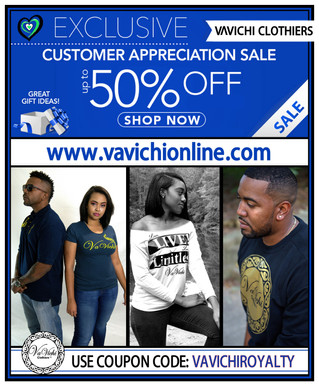 VaVichi's Customer Appreciation Sale