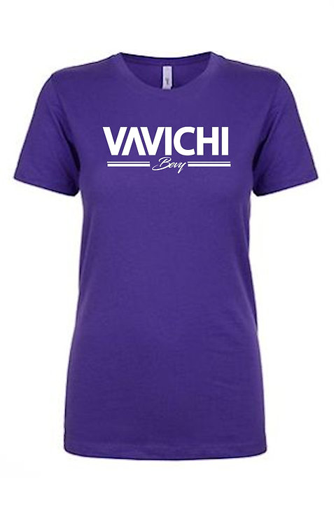 Queen's VaVichi  Bevy V-Neck or Crew