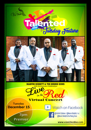 "Catch ""LIVE in the RED"" tonight on FACEBOOK"