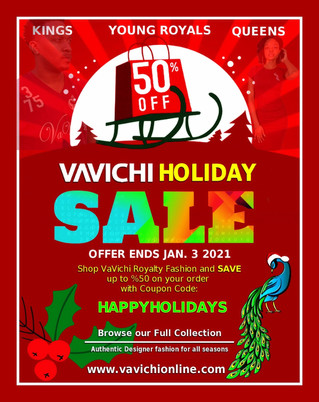 VAVICHI HOLIDAY SALE