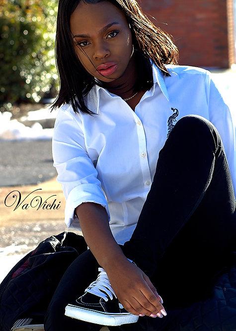 VaVichi Queen long sleeve Button Up