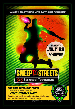 VaVichi Sweep the Streets Basketball Tournament