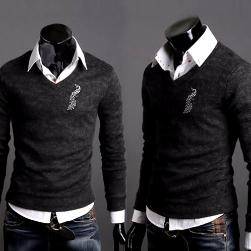 VaVichi Kings V Neck Sweater