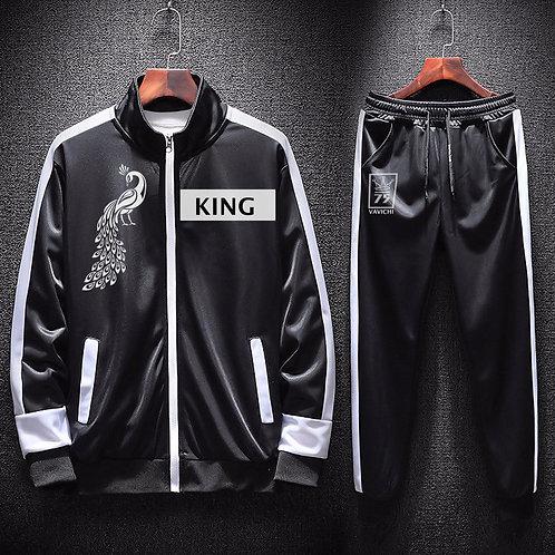 VaVichi King 2 Piece Track Suit
