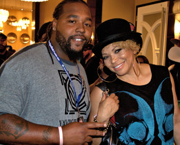 The Lovely Tisha Campbell with VaVichi King