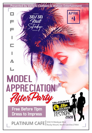 Tri County Stop the Violence Fashion Festival Model Appreciation After Party