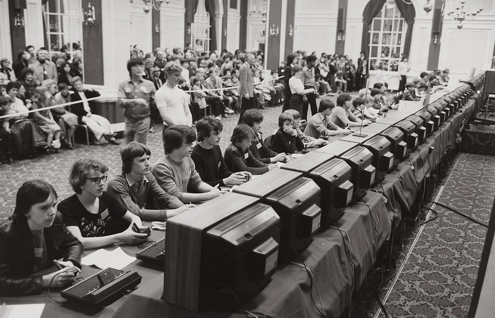 Foto do The Space Invaders Championship em 1981