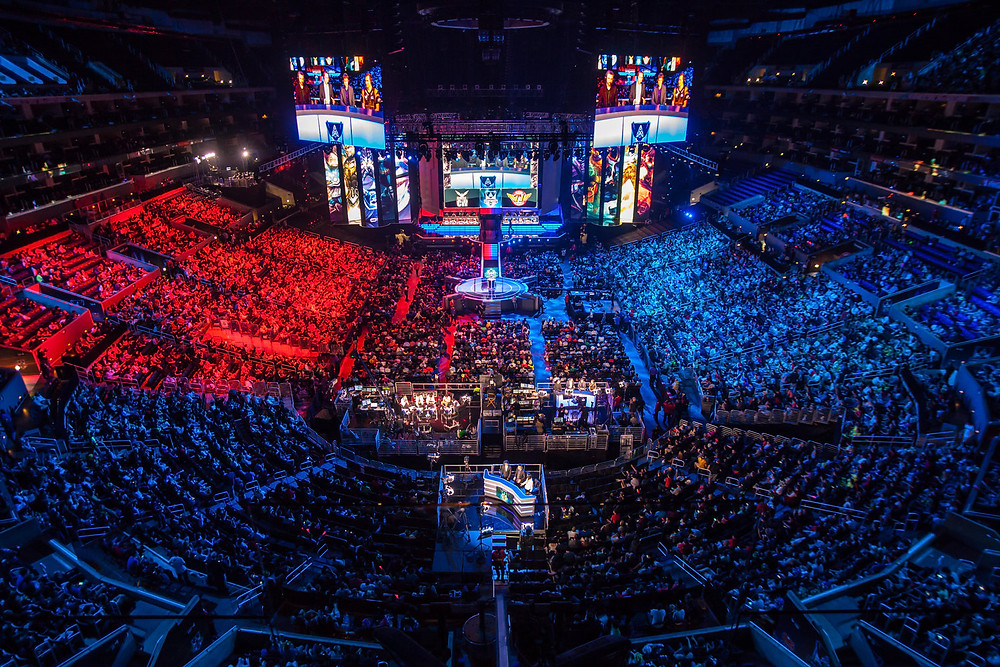 Final do Campeonato Mundial de League of Legends (Staple Center)