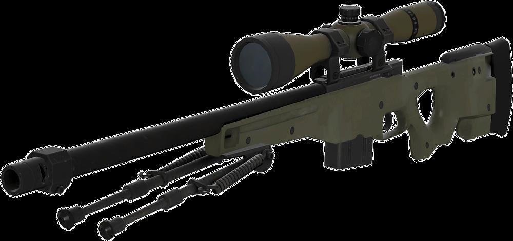 AWP - Uma das Snipers mais usadas no mundo do FPS