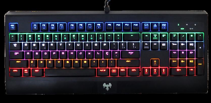 hawkon taita teclado mecânico gamer