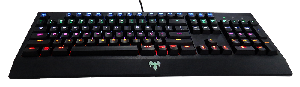 hawkon taita teclado mecanico gamer