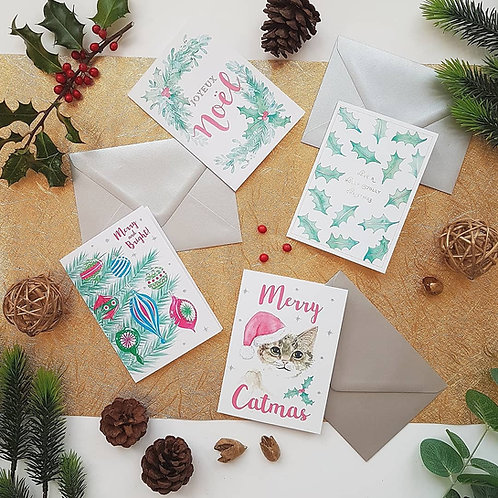 Christmas Card Pack - Sponsoring The Cystic Fibrosis Trust