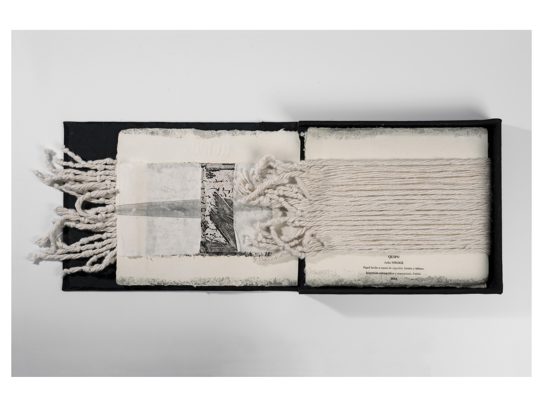 Quipu - Libro de artista