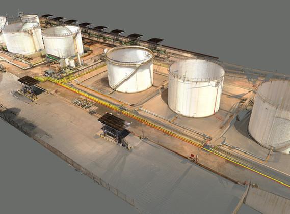 Petrochemical bulk storage depot