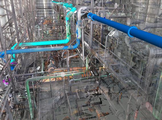 DMS coal process plant