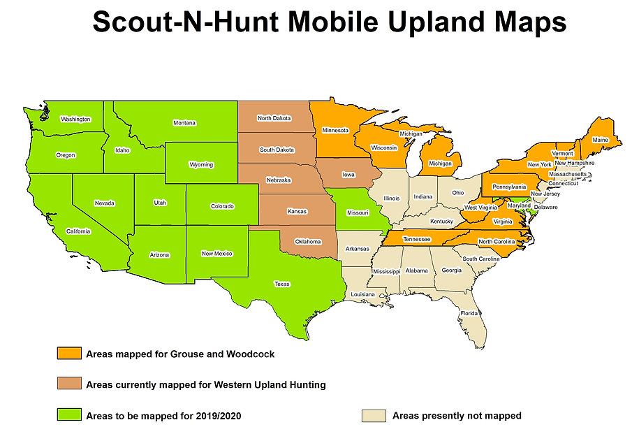 Best Grouse Hunting GPS Maps   Scout-n-Hunt
