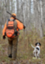 Topo maps grouse hunting