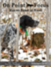 Hunting dogs setters scenting