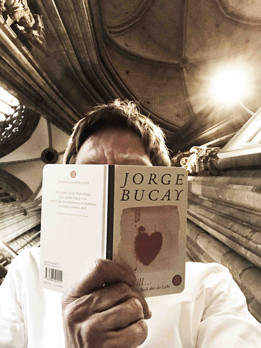 Cover of Jorge Bucay's Book Quiero Ich will, published by S. Fischer Verlag