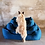 Thumbnail: Hundebetten ● Memory Foam Bett ● DENIM ● GrösseS