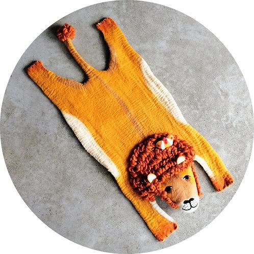 Unterlagen für Hunde ● Filz Tier ● Löwe
