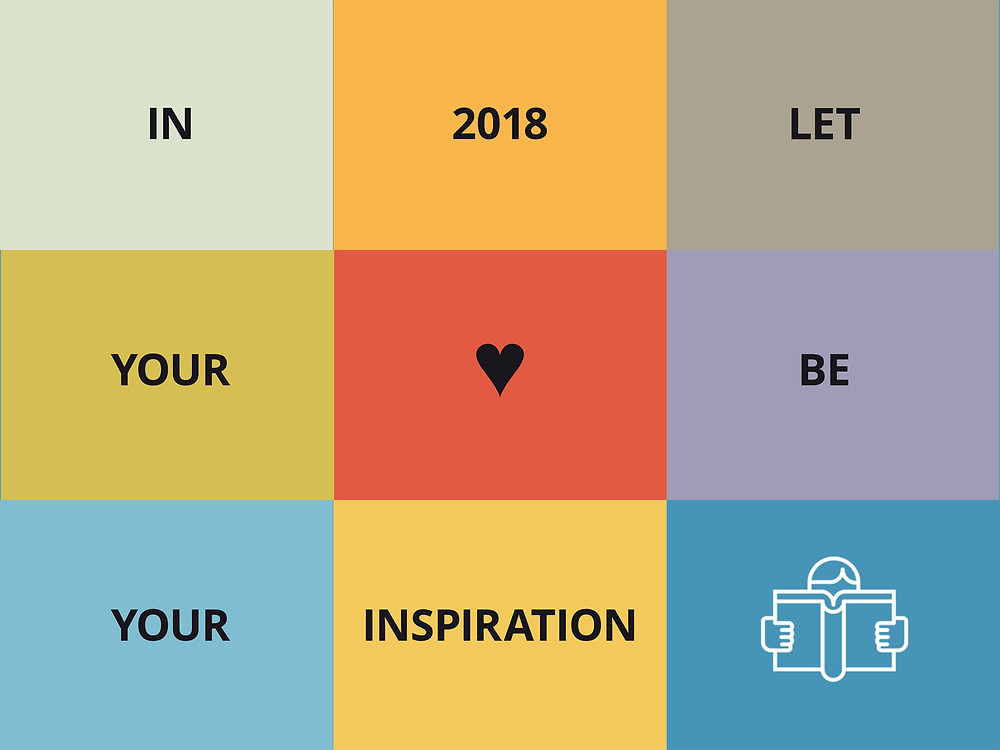 New Year's Resolution of UnderCover Literary Agents In 2018 let your heart be your inspiration