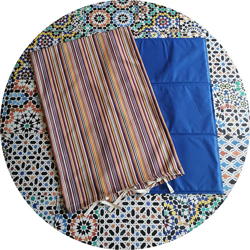 Unterlagen für Hunde ● Gel Kühl Matten Sea Blue ● Markisentuch Housse