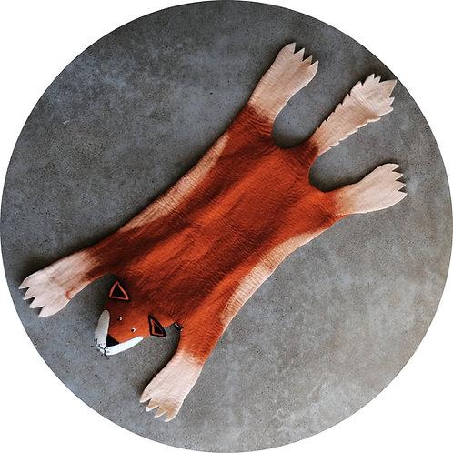 Hundedecken ● Filz Tier ● FUCHS