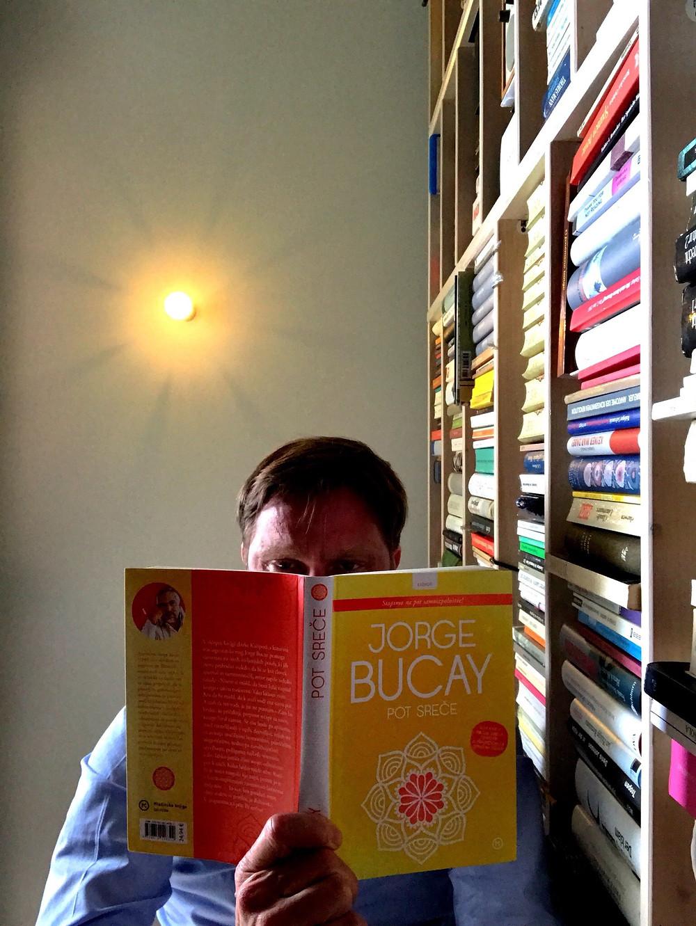Croatian Cover of Jorge Bucay's El camino de la Felicidad, published by Fraktura