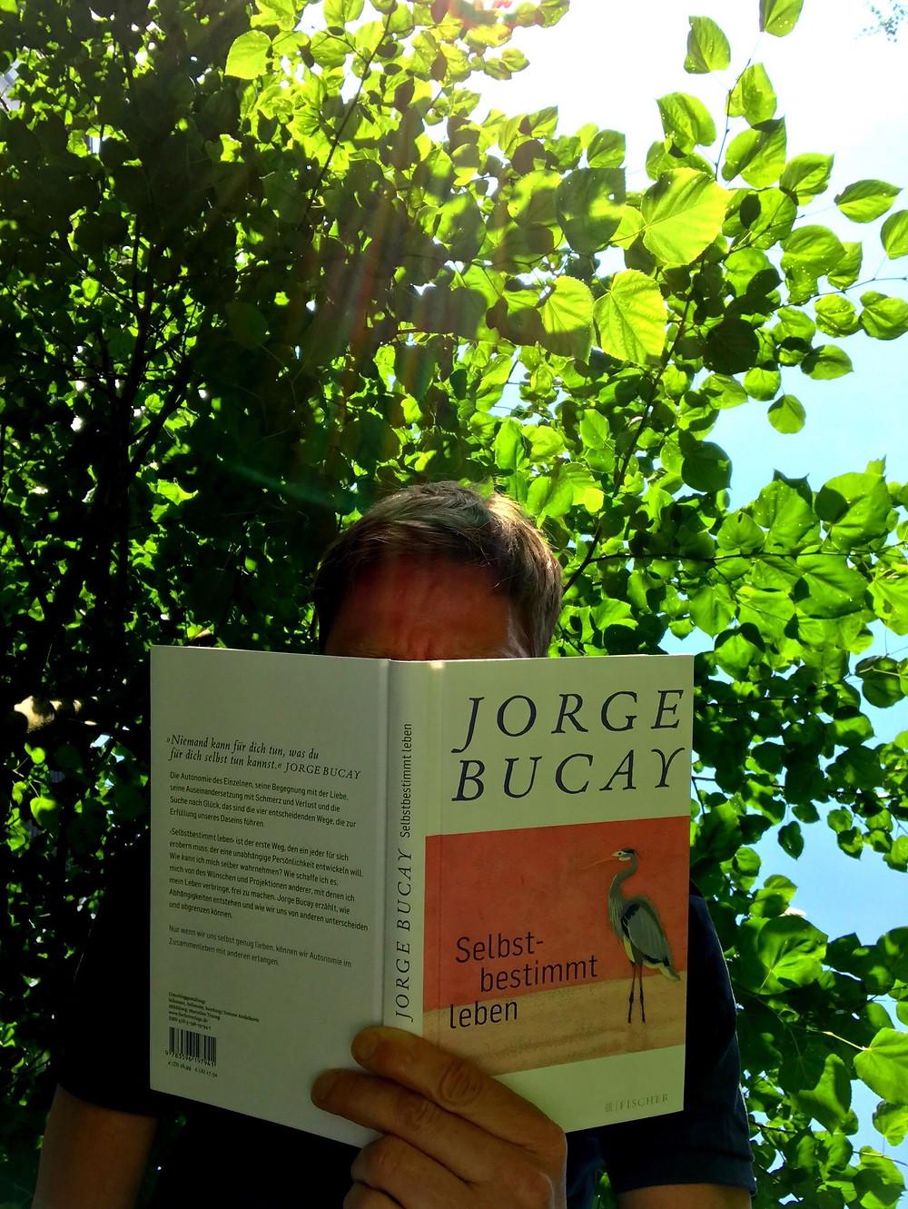 German Cover of Jorge Bucay's El camino de la autodependencia, published by Fischer Verlag