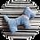 Thumbnail: Hundespielzeug ● Hundekissen ● Fellschnauze ● PETIT PIRATE