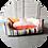 Thumbnail: Hundebetten ● Memory Foam Bett ● JOUR DE FETE/JUNE SUNSET ● GrösseS