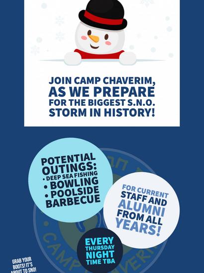 Camp Chaverim S.N.O. 2020