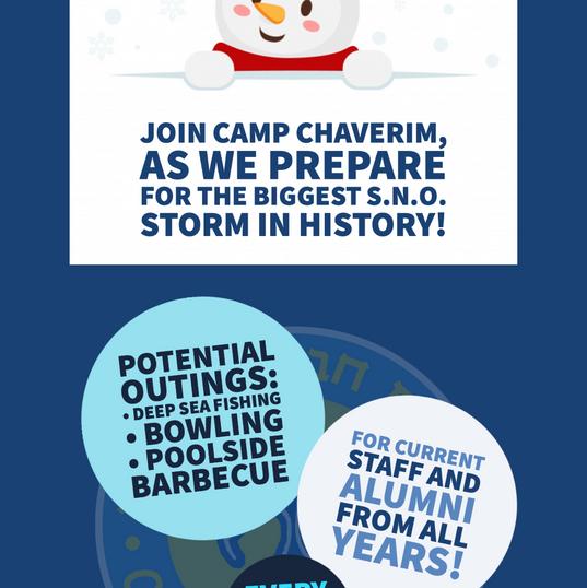 Camp Chaverim 2020 S.N.O.