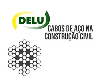 Cabo de aço na construção civil