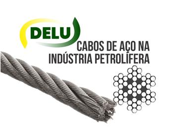 Cabos de aço na indústria petrolífera