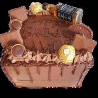 Mens birthday cake