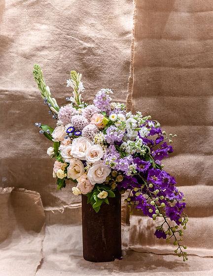 Flower vase, Flower  arrangement with na