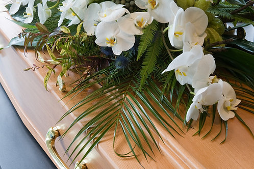 Elegance double end casket spray
