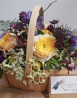 Arranged Flower Baskets