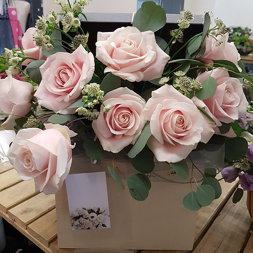 All Rose Gift Hat Box