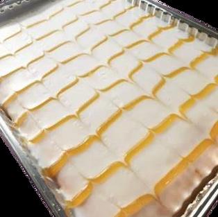 Lemon traybake