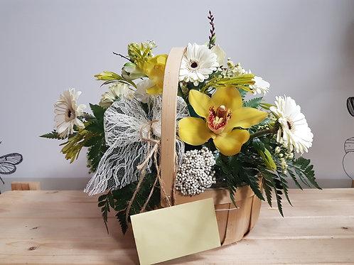 Orchid Sunshine Basket - Florist Choice
