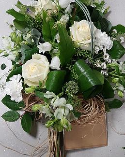 Teardop funeral flowers Dragonfly Florist