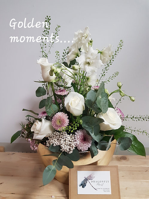 Golden moments table design