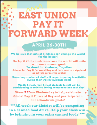East Union Pay It Forward