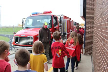 Afton Fire Truck