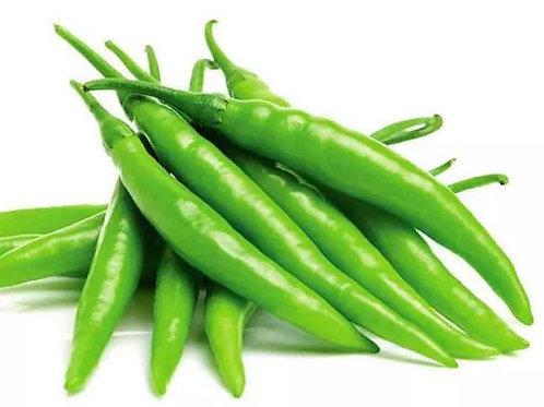 Green Chilli (పచ్చి మిర్చి) - 500 Grams