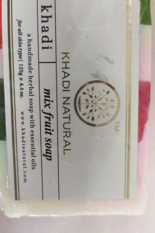 Khadi Natural - Mix Fruit Soap 125g