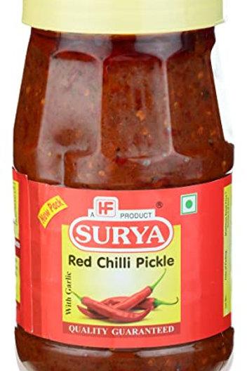 Surya Red Chilli Pickle 1Kg